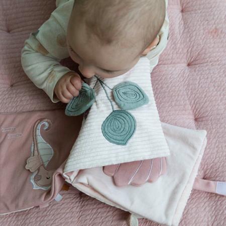 Little Dutch® Soft activity book Ocean Pink