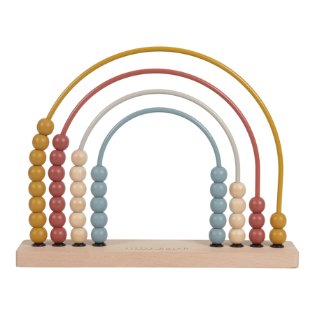 Picture of Little Dutch® Rainbow Abacus Pure&Nature
