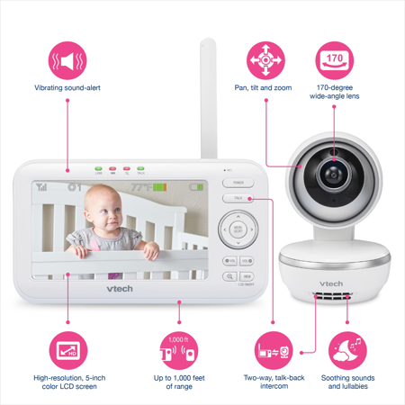 Picture of Vtech® Electronic Baby Monitor VM5261