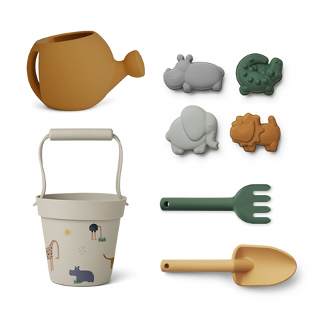 Picture of Liewood® Florence Beach and Garden set - Safari Sandy Multi Mix
