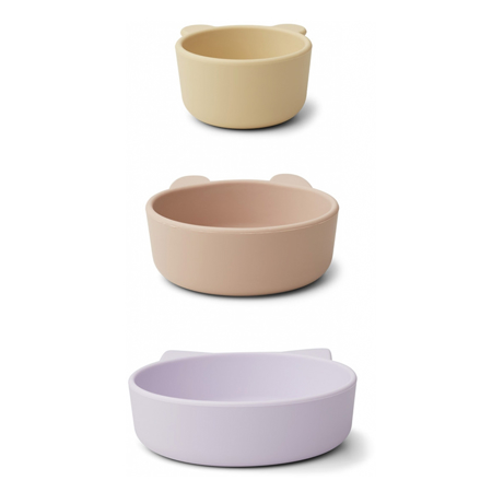 Picture of Liewood® Eddie bowls - Light Lavender Multi Mix 3 pack
