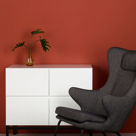 Picture of Quax® Modern Chest 4 Drawers Havana White