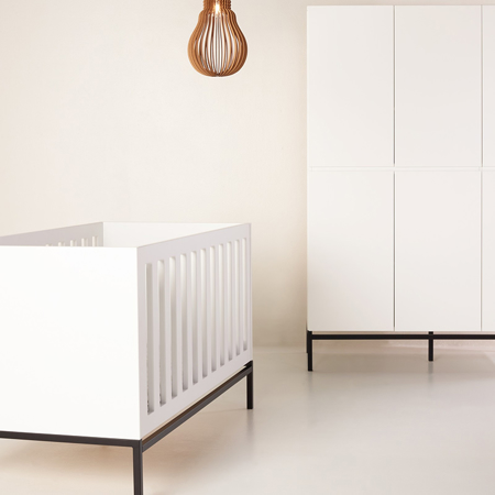 Picture of Quax® Baby Cot/Bench Trendy 140x70 White