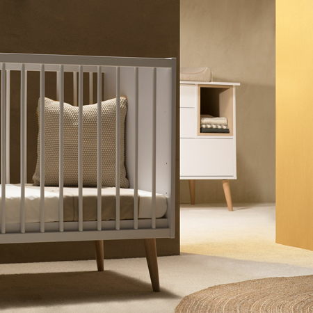 Picture of Quax® Cocoon Baby Bed 140x70 Ice White