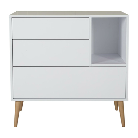 Quax® Modern Commode Cocoon Ice White