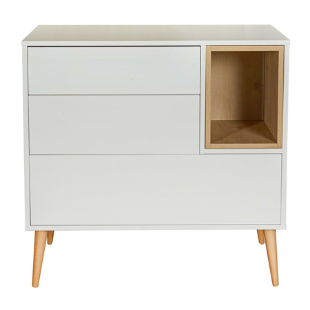 Picture of Quax® Modern Commode Cocoon Ice White