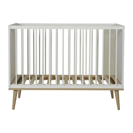 Picture of Quax® Flow Baby Bed 120x60 White & Oak