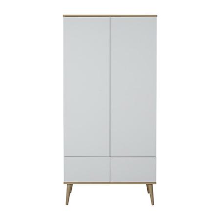Picture of Quax® Flow Wardrobe White & Oak