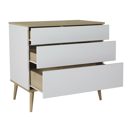 Picture of Quax® Modern Commode Flow White & Oak