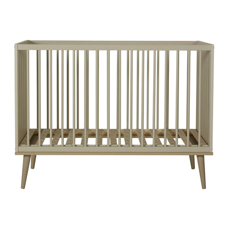 Picture of Quax® Flow Baby Bed 120x60 Clay & Oak
