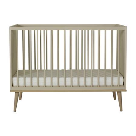 Quax® Flow Baby Bed 120x60 Clay & Oak