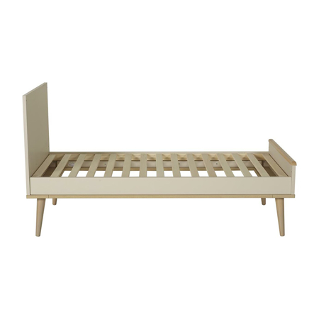 Picture of Quax® Flow Baby Bed 140x70 Clay & Oak