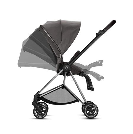 Picture of Cybex® Otroški voziček Mios Chrome Black (0-22 kg)