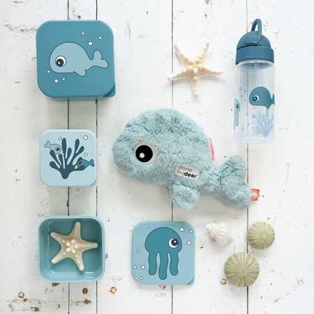 Picture of Done by Deer® Straw bottle Sea friends Blue