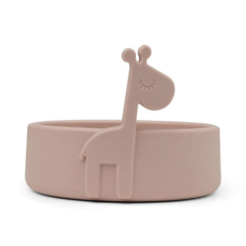 Picture of Done by Deer® Silicone bowl Peekaboo Powder