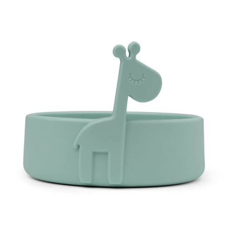 Picture of Done by Deer® Silicone plate Peekaboo Raffi Blue
