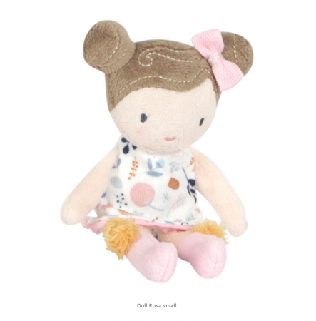 Picture of Little Dutch® Baby doll Rosa S