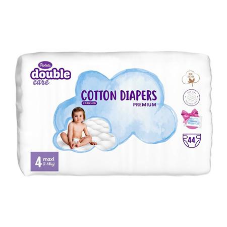 Picture of Violeta® Double Care Cotton Touch Diapers 4 (7-18kg) 44 Pcs