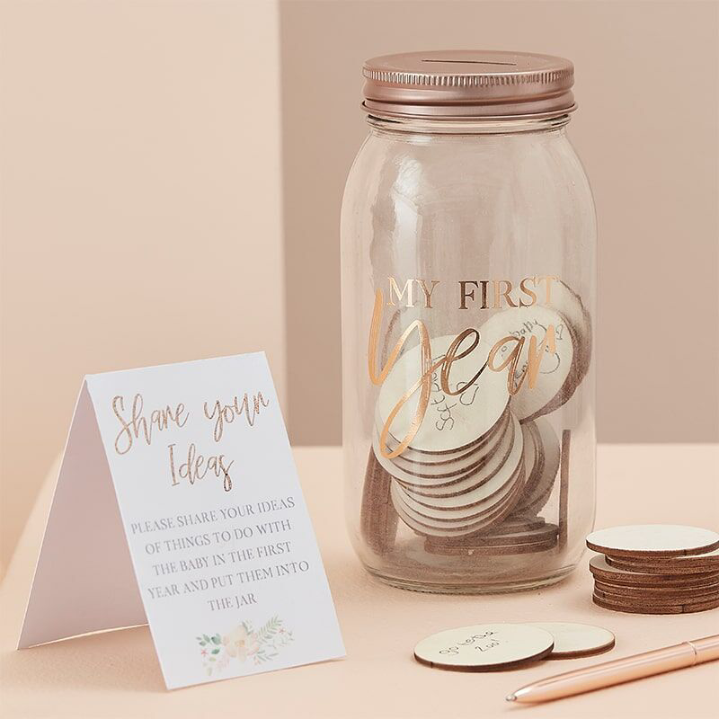 Picture of Ginger Ray® Baby's First Memory Jar