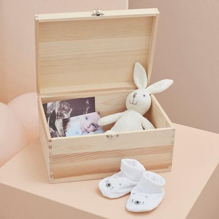 Ginger Ray® Wooden Baby Memory Keepsake Box