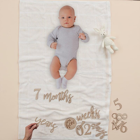 Picture of Ginger Ray® Baby Milestone Blanket Mix & Match