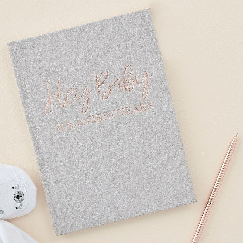 Picture of Ginger Ray® Foiled Guest Book Baby in Bloom