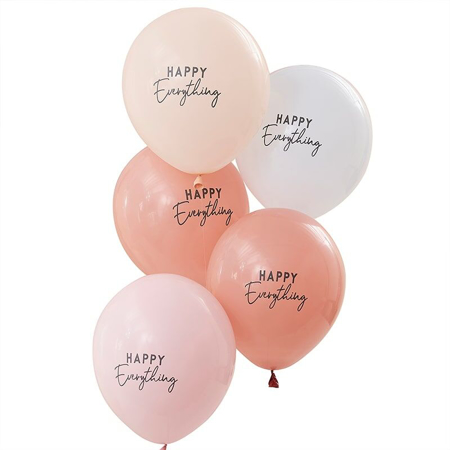 Ginger Ray® Muted Pastel Balloons Happy Everything