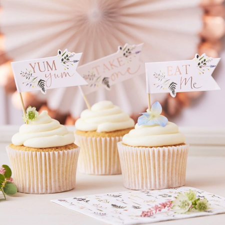 Picture of Ginger Ray® Afternoon Tey Cupcake Toppers