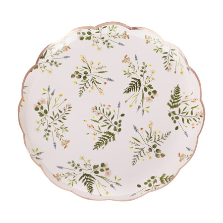 Ginger Ray® Floral Tea Party Paper Plates