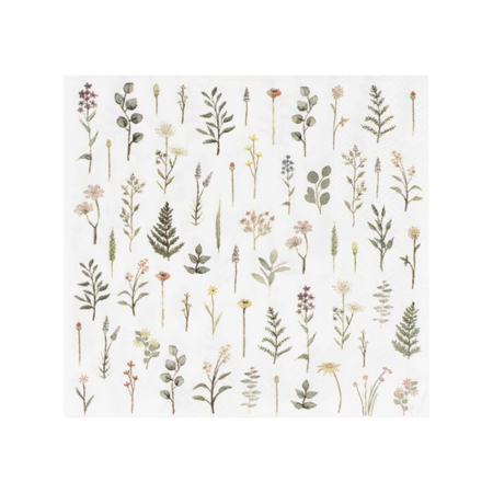 Ginger Ray® Paper Napkin Floral Print