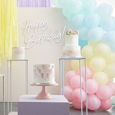 Picture of Ginger Ray® Balloon Arch Mix It Up Pastel