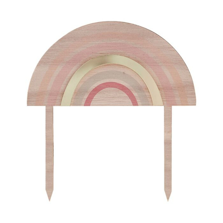 Ginger Ray® Wooden Rainbow Happy Everything Topper