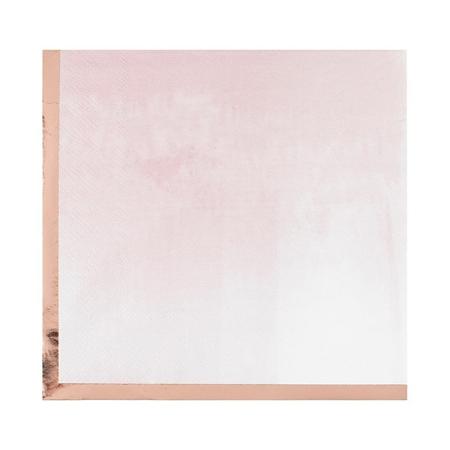 Ginger Ray®  Reactive Glaze Pink Napkins 16 pcs.