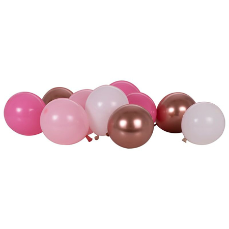Ginger Ray® Balloons Mix It Up Blush Rose Gold