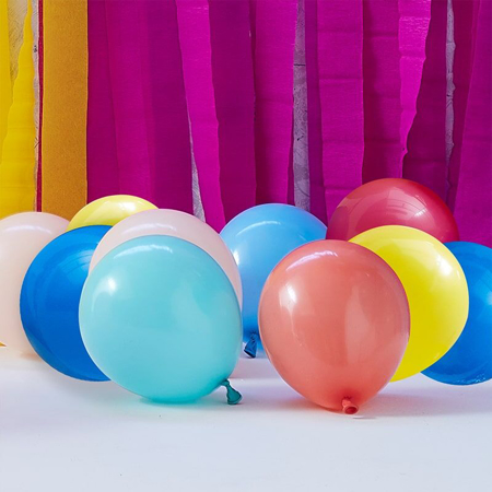 Picture of Ginger Ray® Balloons Mix It Up Multi Colour