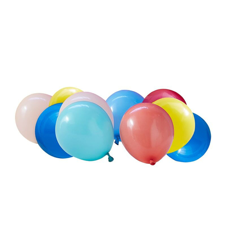 Ginger Ray® Balloons Mix It Up Multi Colour