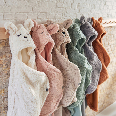 Picture of Jollein® Wrap blanket Bunny Ash Green 105x100
