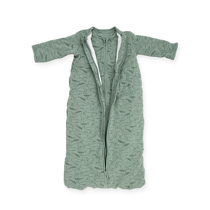 Picture of Jollein® Baby sleeping bag 4 seasons 90cm Whales Ash Green