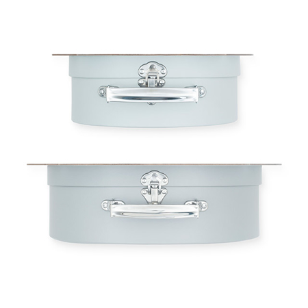 Picture of Jollein® Play boxes Shell Grey 2 pcs.