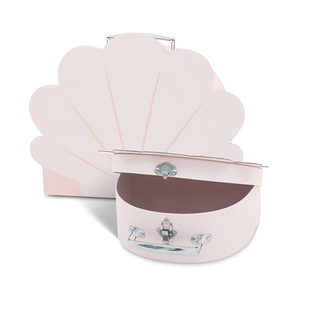 Picture of Jollein® Play boxes Shell Pale Pink 2 pcs.