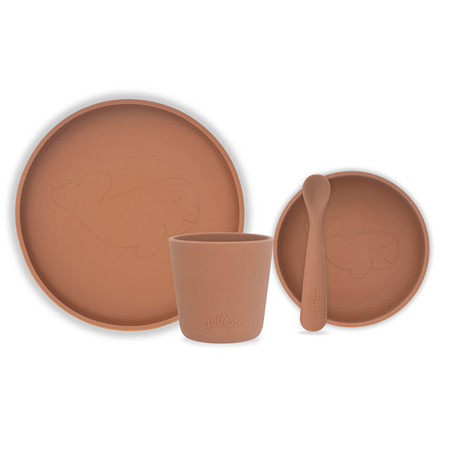 Picture of Jollein® Silicone dinner set Caramel