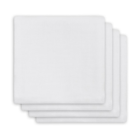 Picture of Jollein® Muslin Multi Cloth Bamboo White 4 pcs. 70x70