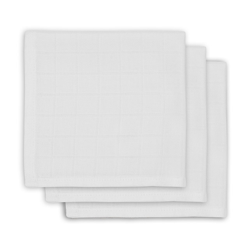 Picture of Jollein® Mouth cloth hydrophilic White 3pack 31x31