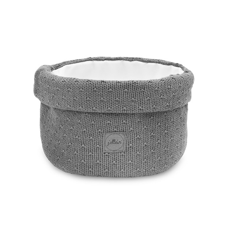 Picture of Jollein® Basket Bliss Knit Storm Grey