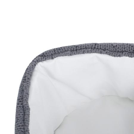 Jollein® Basket Bliss Knit Storm Grey