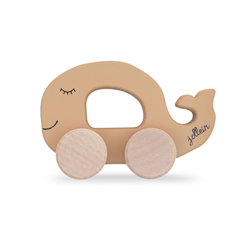 Picture of Jollein® Wooden Toy Car Whale Caramel