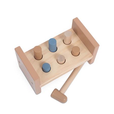 Picture of Jollein® Wooden Hammer Bench Pink
