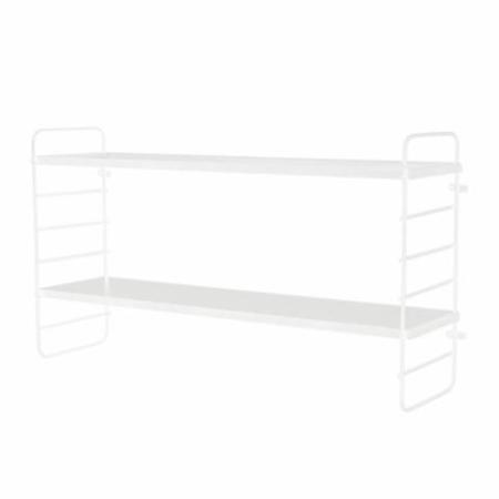 Bloomingville® North Shelf White Metal