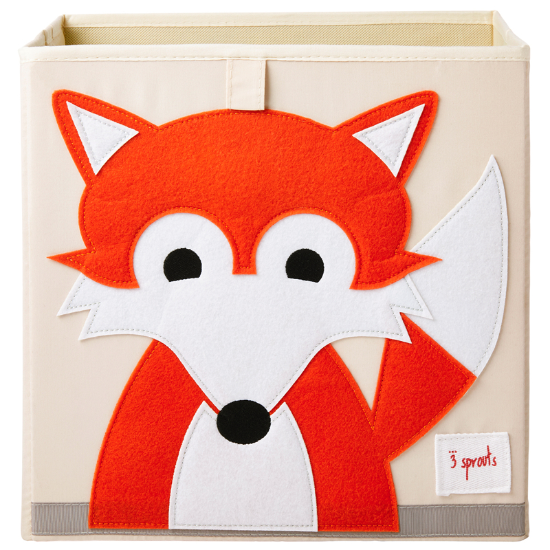 Picture of 3Sprouts® Toy Storage Box Fox