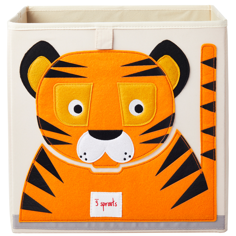Picture of 3Sprouts® Toy Storage Box Tiger